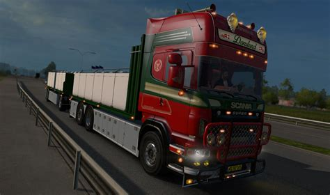 truck with scania r560 donslund truck with trailer 1 23 truck