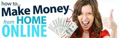 Make Money Home Online - online money expert make money from home jobs network