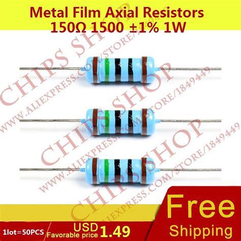 cheap resistor kit get cheap 150ohm resistor aliexpress alibaba