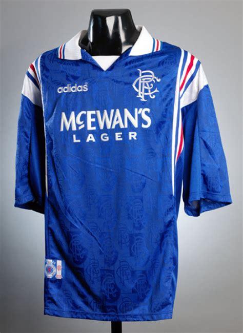 Tshirt Adidas Alba Match Item Name rangers 1996 adidas richard gough testimonial match worn