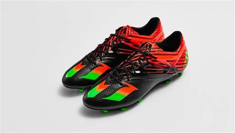 adidas football shoes messi adidas messi 15 1 quot black solar green quot football boots