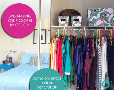 How To Organize Your Closet By Color by Organizing Your Closet By Color Live Colorful