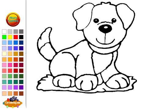 dog coloring pages games coloring game online barbie coloring pages free