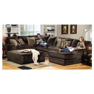 Power Reclining Sofas 4377 Sectional Jackson Furniture Everest Sectional