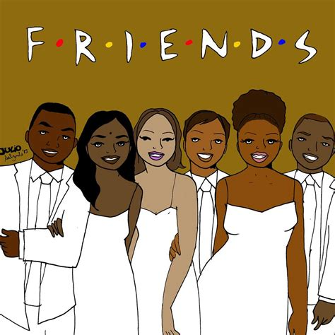 the color of friendship cast artist reimagines sitcoms with only actors of color