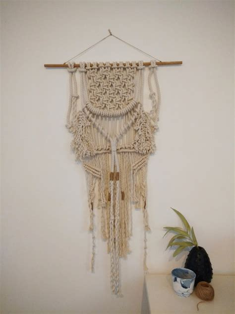 Wall Hangings Handmade - macrame wall hanging handmade interior design organic