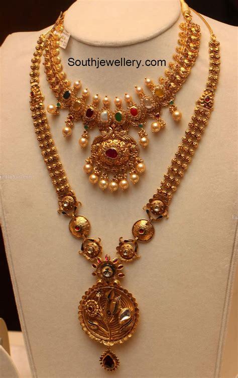 jewelry designs navratna necklace jewelry designs jewellery designs