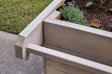 how to build a portable planter bonnie plants