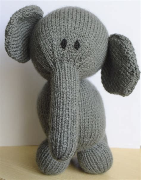knitting patterns for elephants elephant soft knitting by post