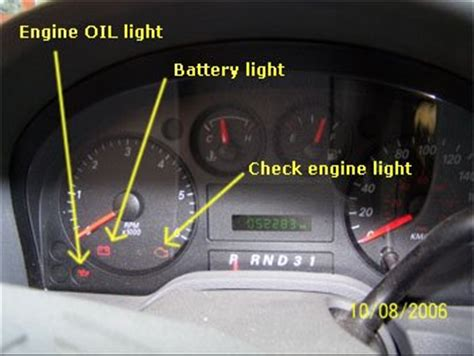 check engine light codes august 2006