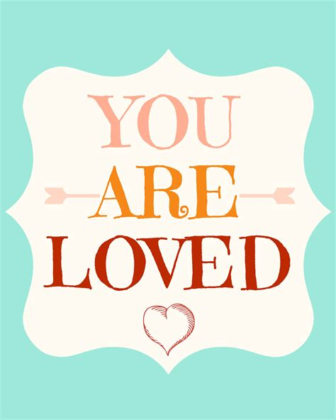 Your A you are loved 8x10 momistabeginnings