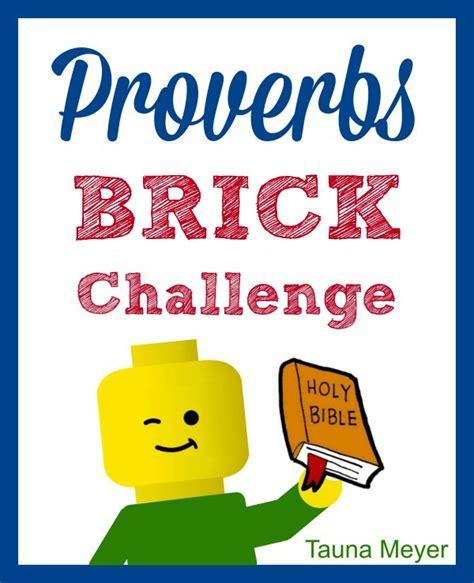 proverbs brick challenge proverbial homemaker