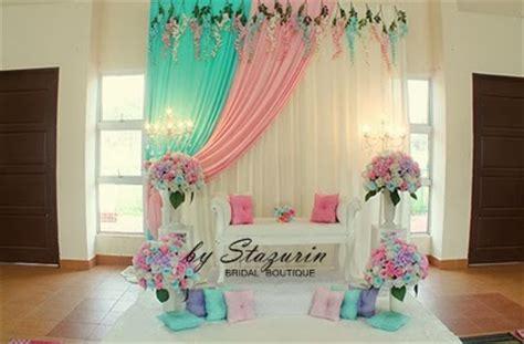 warna tema pengantin 2015 stazurinweddings pelamin dewan pelamin tunang mini pelamin
