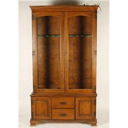 wood and glass gun cabinet wood and glass gun cabinet approximately 24 in height
