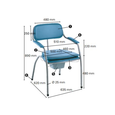 Chaise Omega Bébé Confort by Chaise Toilettes Invacare Omega H450 Chaise Garde Robe