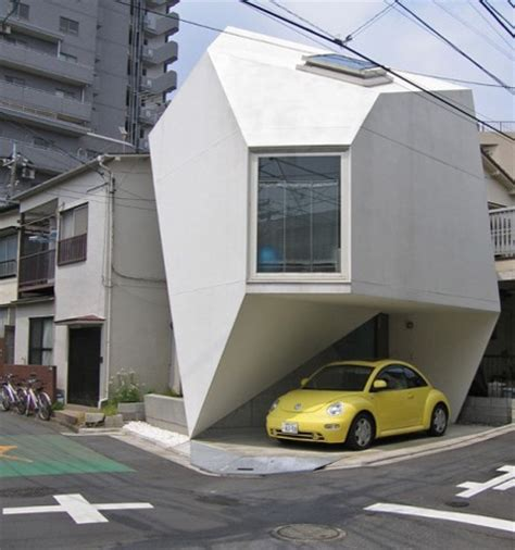 compact house modern compact house in tokyo