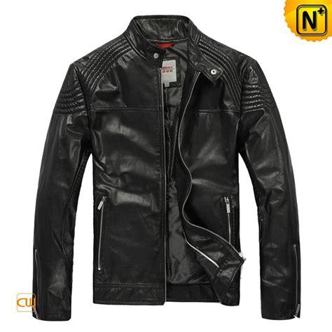 jacket design maker men s designer leather jacket pleated shoulder zipper