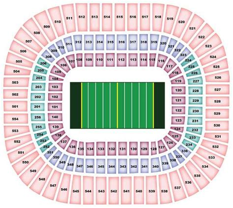 bank of america stadium seating carolina panthers stadium seating chart bank of america