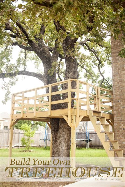 build you own home want to make a treehouse the garden glove