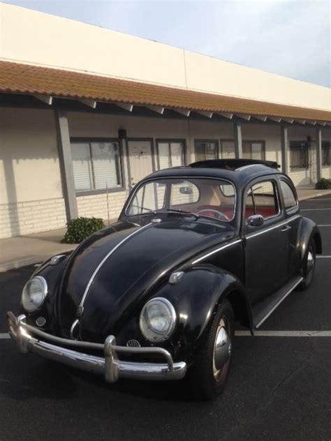 volkswagen cer pink 1960 volkswagen bug ragtop vw sunroof beetle 1959 1961