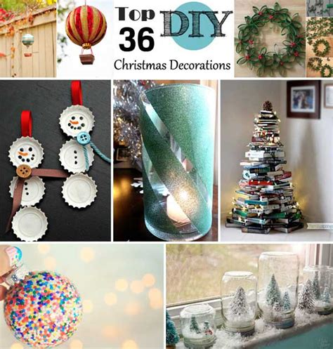 christmas decoration ideas to make at home top 36 simple and affordable diy christmas decorations