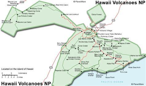 volcanoes in hawaii map exploring the top attractions of hawaii s volcanoes