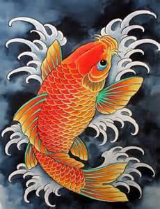 koi fish colors koi fish drawing color www pixshark images