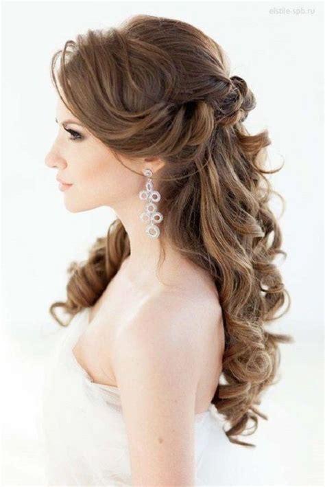 gorgeous bridal hair styles down dos historic kent manor inn 32 pretty half up half down hairstyles partial updo