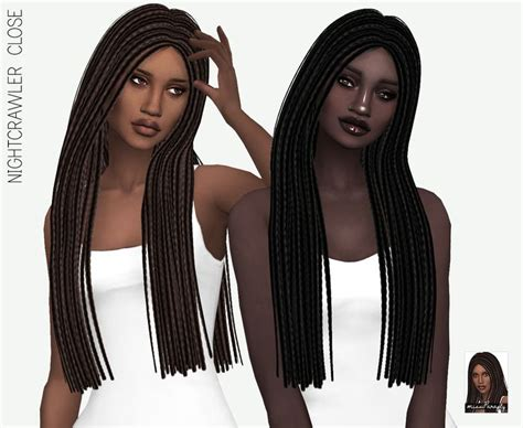 sims 4 female braids 95 best sims 4 hair images on pinterest sims cc sims
