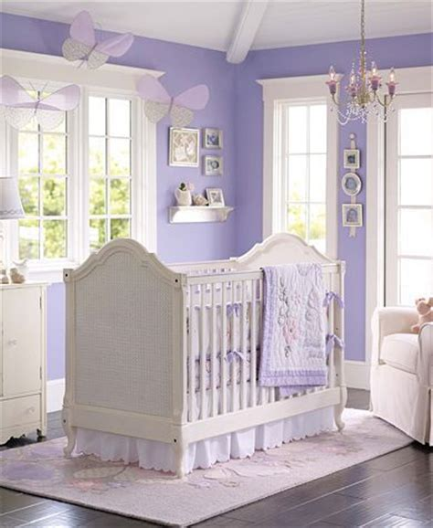 purple baby room a nursery for a i would also add green to make it a less purple baby