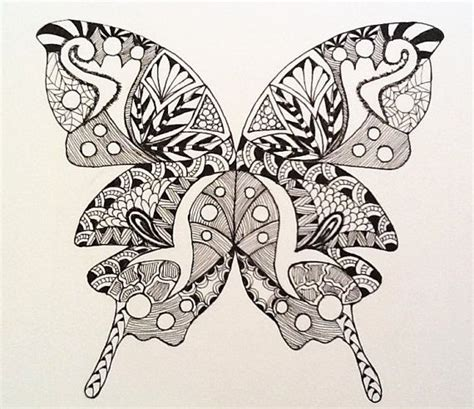 doodle pattern butterfly zentangle new dates added