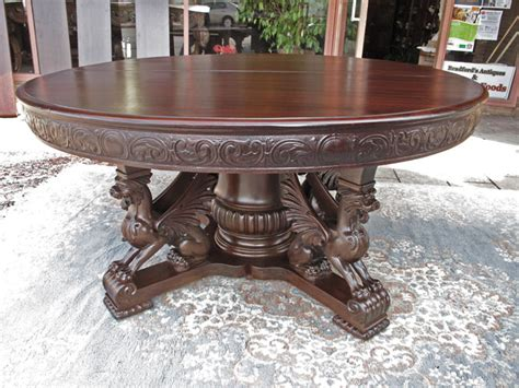 Design Your Own Home To Build rj horner mahogany 60 in dining table