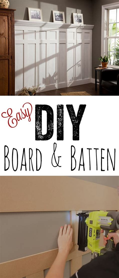this diy board and batten tutorial so cheap and so