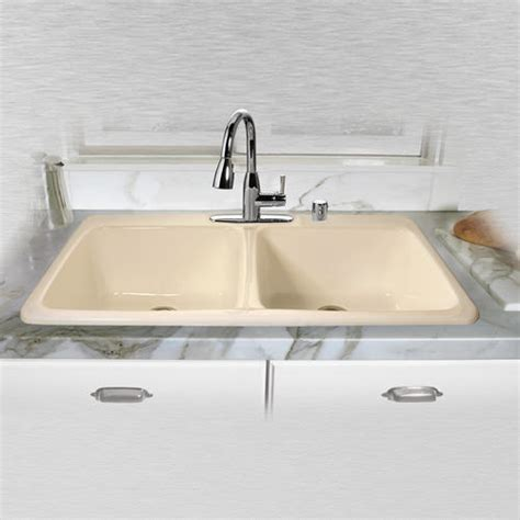 43 x 22 kitchen sink ceco big corona 743 43 quot x 22 quot x 10 quot cast iron equal