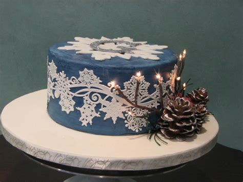 Winter Wonderland Themed Decorating - sweet 16 birthday cake winter wonderland theme cakecentral com