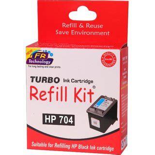 Ink Hp 704 Black buy turbo ink refill kit for hp 704 black ink cartridge