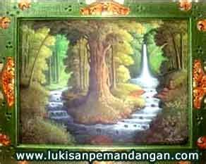 Penjual Bibit Bunga Sedap Malam jual lukisan pemandangan alam panen padi sawah hutan