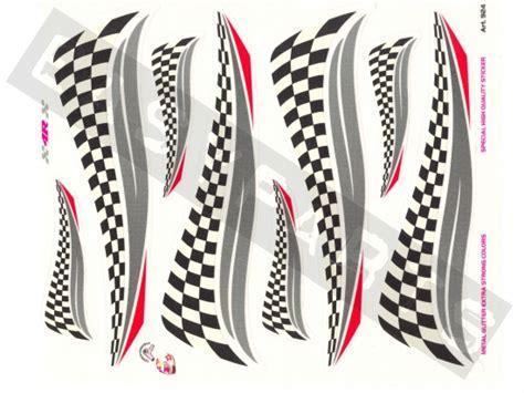 Roller Aufkleber Shop aufkleber set zielflagge 19x24cm easyparts