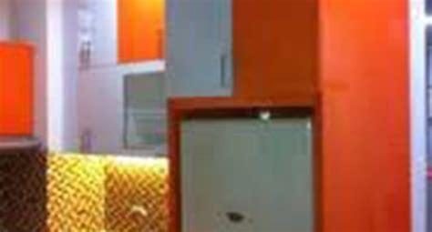 desain dapur warna orange lemari dapur gambar lemari dapur lemari dapur minimalis