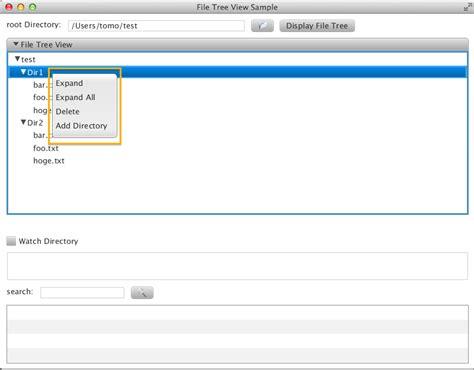 tutorial java nio2 file tree view sle part 2 tomotakaの日記
