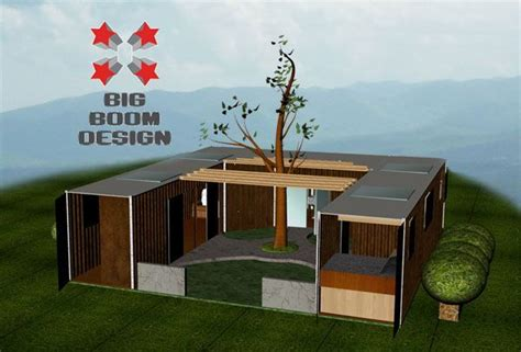 delivery container residence designs