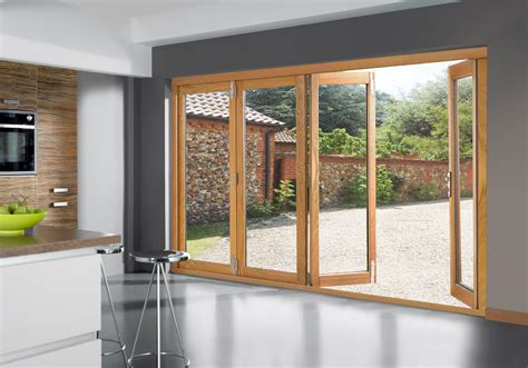 Folding Doors Exterior Patio Home Entrance Door Folding Patio Doors