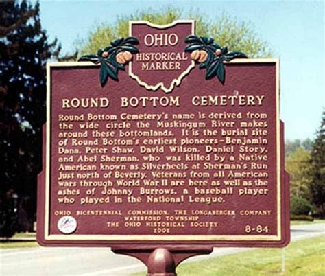 Washington County Ohio Records Bottom Cemetery Washington County Ohio
