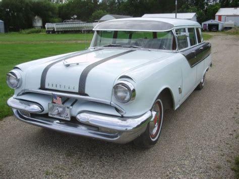 55 Pontiac For Sale 55 Pontiac Chieftain Station Wagon No Reserve For Sale