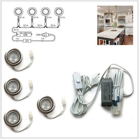 round halogen g4 12v 20w recessed kit under cabinet shelf