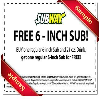printable subway coupons july 2015 25 best ideas about subway coupon code on pinterest