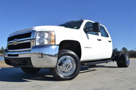 manual cars for sale 2008 chevrolet silverado 3500 security system find used 2008 chevrolet silverado 3500hd crew cab ls 4x4 diesel cab and chassis in baton rouge