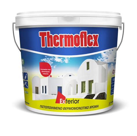 insulating exterior paint acrylic paint thermoflex certified acrylic thermal