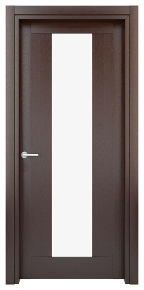 Interior Door Solid Wood Construction Laminated Wenge Interior Doors Houzz