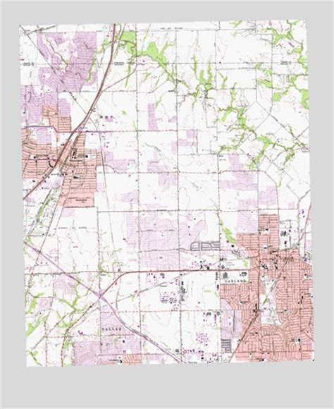 garland texas map garland tx topographic map topoquest